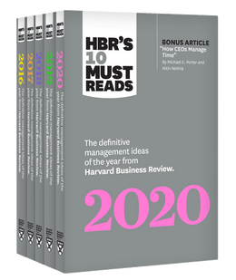 5 Years of Must Reads from HBR: 2020 Edition (5 Books) ^ 10400