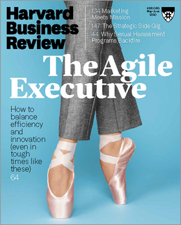 Harvard Business Review, May/June 2020 ^ BR2003
