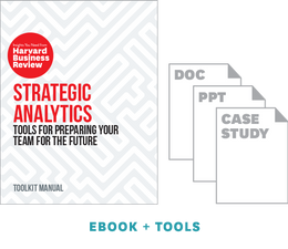Strategic Analytics: Tools for Preparing Your Team for the Future ^ 10446