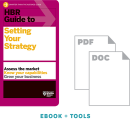 HBR Guide to Setting Your Strategy Ebook + Tools ^ 10488