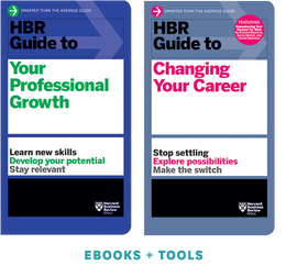 HBR Guides to Managing Your Career Ebooks + Toolkit Set ^ 10490