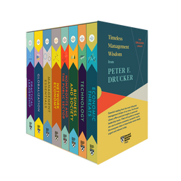 Peter F. Drucker Boxed Set (8 Books) (The Drucker Library) ^ 10431