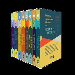 Peter F. Drucker Boxed Set (8 Books) (The Drucker Library) ^ 10431