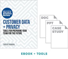 Customer Data and Privacy: Tools for Preparing Your Team for the Future ^ 10486