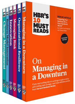 HBR's 10 Must Reads for the Recession Collection (6 Books) ^ 10484