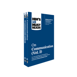 HBR's 10 Must Reads on Communication 2-Volume Collection ^ 10529