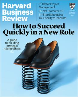 Harvard Business Review, November/December 2021 ^ BR2106