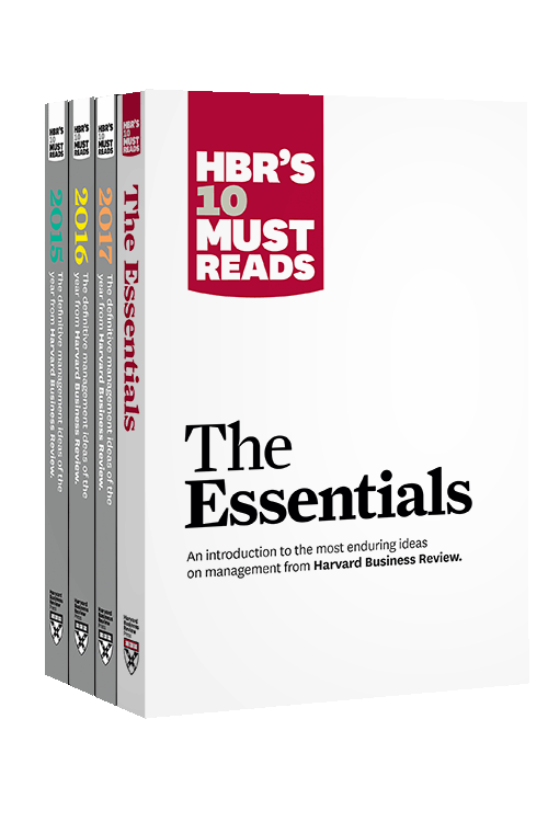 HBR's 10 Must Reads Big Business Ideas Collection (2015-2017 plus The Essentials) (4 Books) ^ 10132