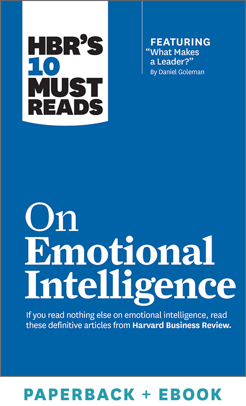 HBR's 10 Must Reads on Emotional Intelligence (Paperback + Ebook) ^ 1021BN