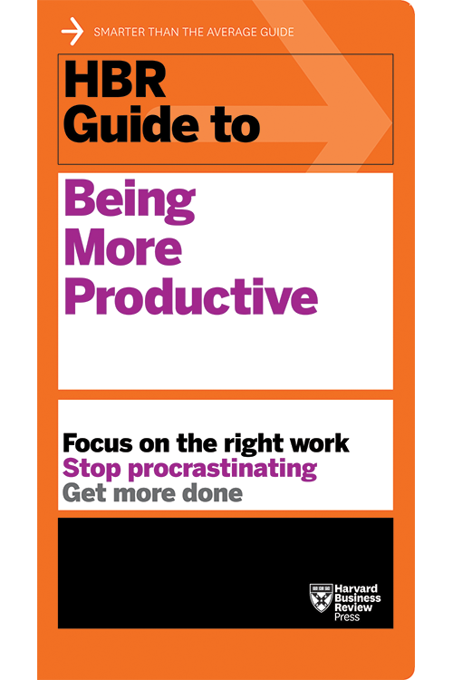 HBR Guide to Being More Productive ^ 10138