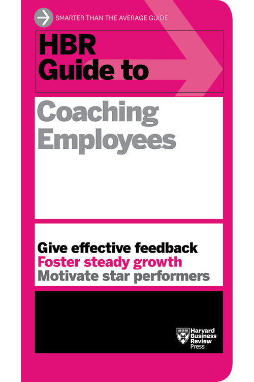 HBR Guide to Coaching Employees ^ 13990