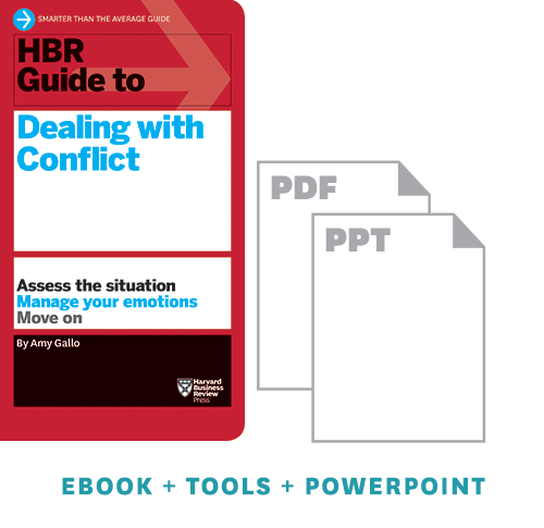 HBR Guide to Dealing with Conflict Ebook + Tools ^ 10170