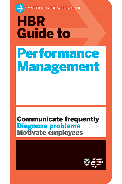 HBR Guide to Performance Management ^ 10119