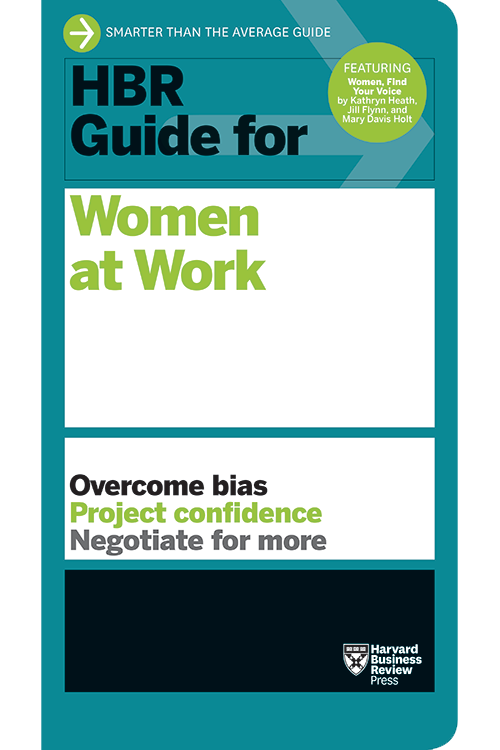 HBR Guide for Women at Work ^ 10151