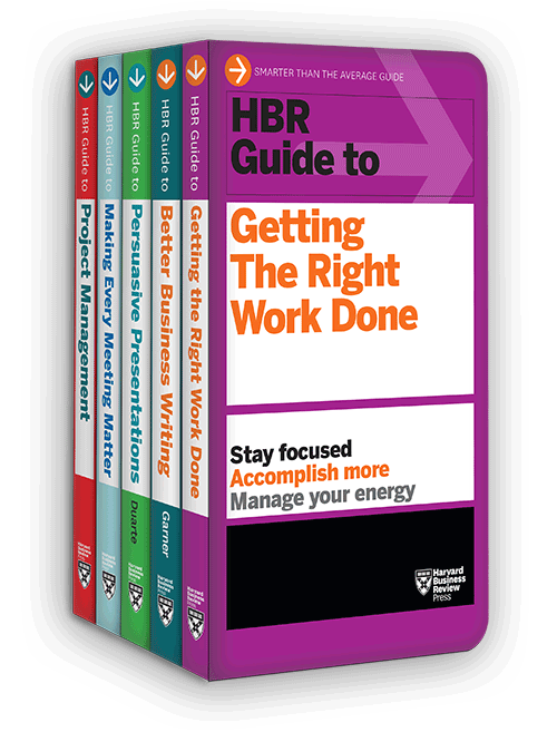 HBR Guides to Being an Effective Manager Collection (5 Books) (HBR Guide Series) ^ 10183