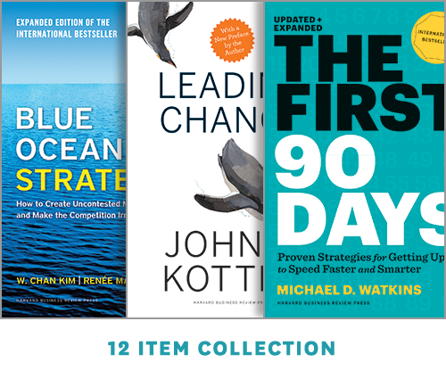 Harvard Business Review Leadership Library: The Executive Collection (12 Ebooks) ^ 10044
