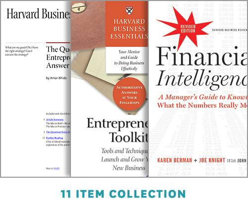 Build a Successful Business: The Entrepreneurship Collection (10 Items) ^ 10046