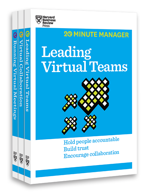 The Virtual Manager Collection (3 Books) (HBR 20-Minute Manager Series) ^ 10087
