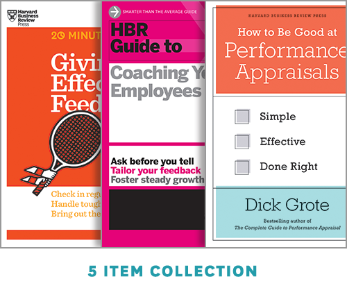 Performance Reviews and Coaching: The Performance Management Collection (5 Ebooks) ^ 10059