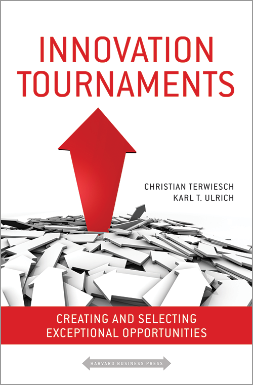 Innovation Tournaments: Creating and Selecting Exceptional Opportunities ^ 10095