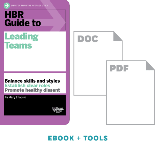 HBR Guide to Leading Teams Ebook + Tools ^ 10022