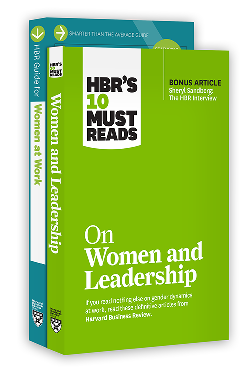 HBR's Women at Work Collection (2 Books) ^ 10315