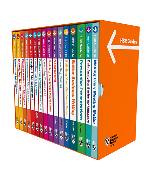Harvard Business Review Guides Ultimate Boxed Set (16 Books) ^ 10278
