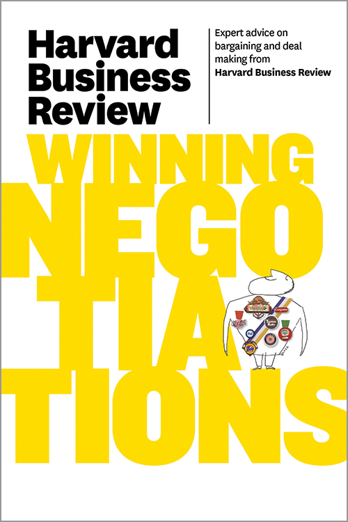 Harvard Business Review on Winning Negotiations ^ 10327