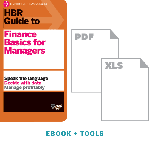 HBR Guide to Finance Basics for Managers Ebook + Tools ^ 11185H