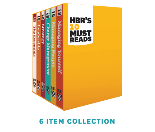 HBR's 10 Must Reads Series Boxed Set (6 Books) ^ 10948