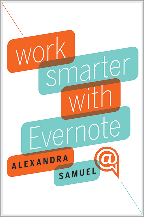 Work Smarter with Evernote ^ 11850E