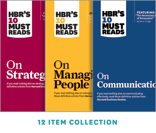 HBR's 10 Must Reads Collection (12 Ebooks) ^ 14216E