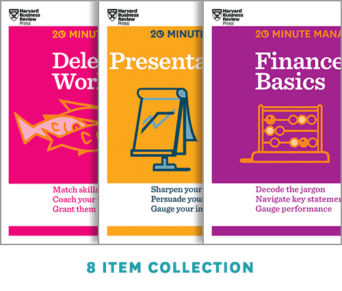 HBR 20-Minute Manager Collection (8 Ebooks) (HBR 20-Minute Manager Series) ^ 14220E
