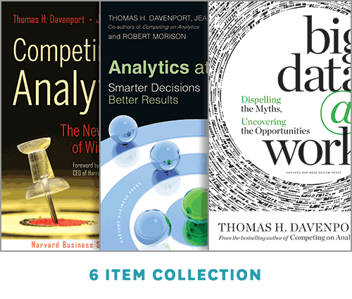 Analytics and Big Data: The Davenport Collection (6 Items) ^ 14162E