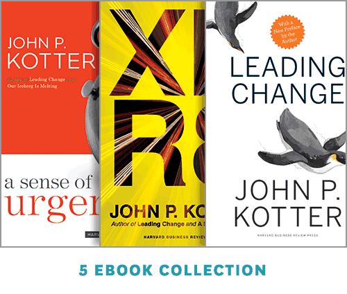 Change Leadership: The Kotter Collection (5 Ebooks) ^ 14182E
