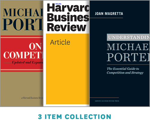 Strategy and Competition: The Porter Collection (3 Items) ^ 14189E