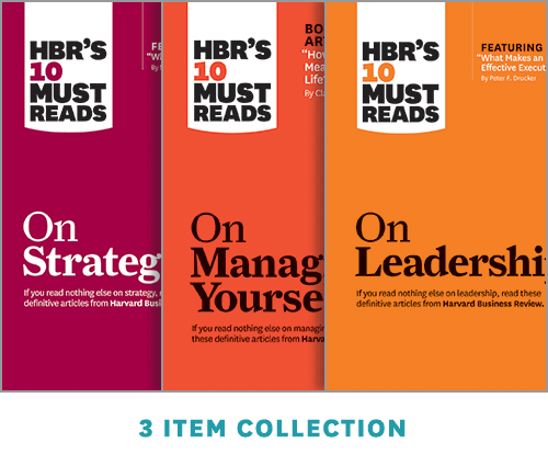 HBR's 10 Must Reads Leader's Collection (3 Ebooks) ^ 14215E