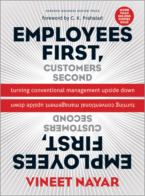 Employees First, Customers Second: Turning Conventional Management Upside Down ^ 12330