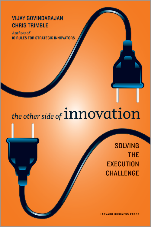 The Other Side of Innovation: Solving the Execution Challenge ^ 13219