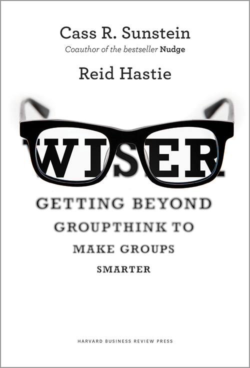 Wiser: Getting Beyond Groupthink to Make Groups Smarter ^ 2299