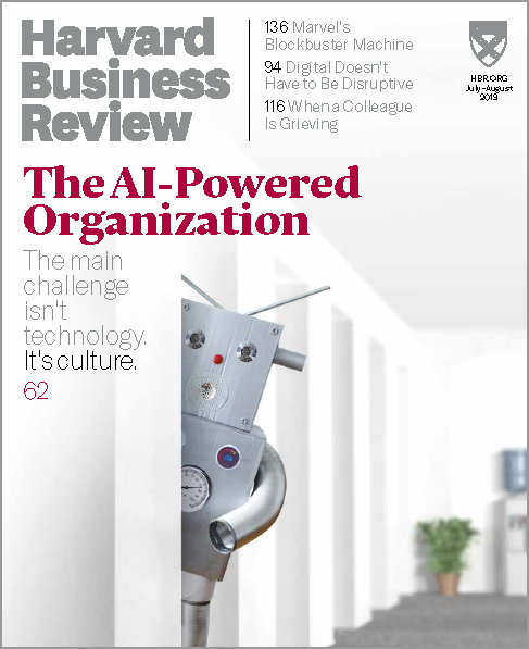 Harvard Business Review, July/August 2019 ^ BR1904