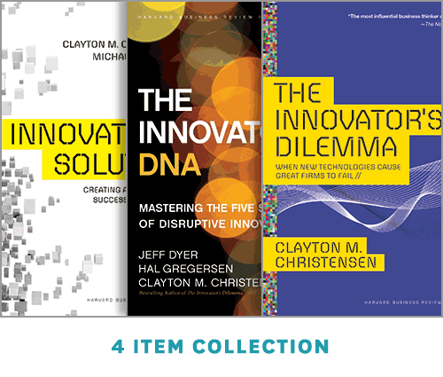 "The Clayton Christensen Innovation Collection (includes award-winning HBR article ""How Will You Measure Your Life?"") ^ 7433BN"
