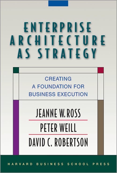 Enterprise Architecture as Strategy: Creating a Foundation for Business Execution ^ 8398