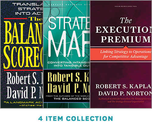 Balanced Scorecard Success: The Kaplan-Norton Collection (4 Ebooks) ^ 10033