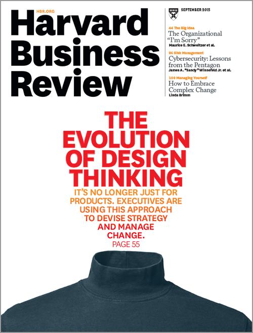 Harvard Business Review, September 2015 ^ BR1509