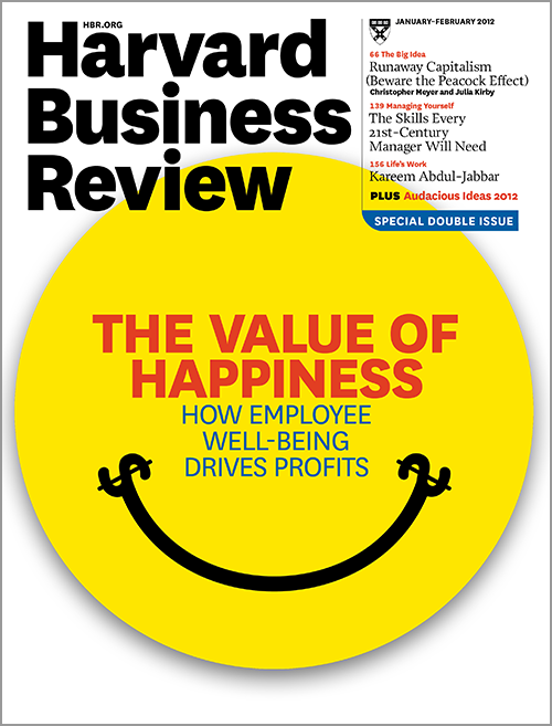 Harvard Business Review, January/February 2012 ^ BR1201