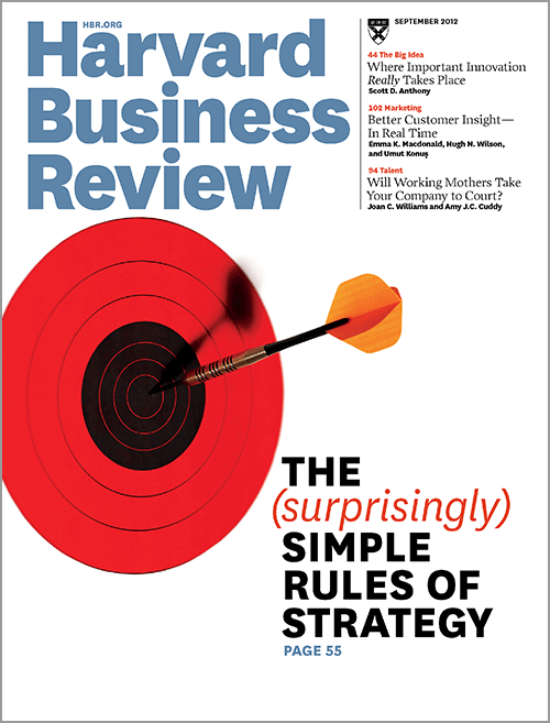 Harvard Business Review, September 2012 ^ BR1209