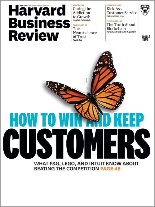 Harvard Business Review, January/February 2017 ^ BR1701