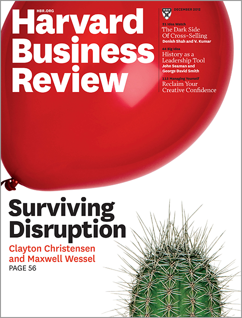 Harvard Business Review, December 2012 ^ BR1212