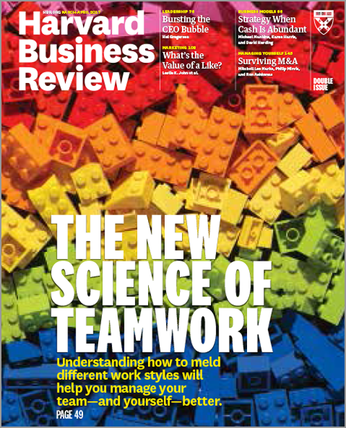 Harvard Business Review, March/April 2017 ^ BR1702